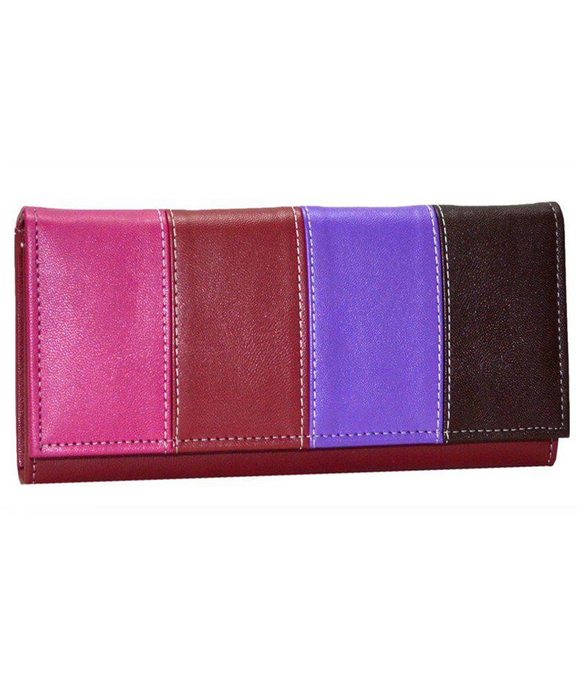 Utsukushii Maroon Formal Wallet