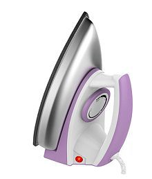 Usha 3402 Dry Iron White & Purple