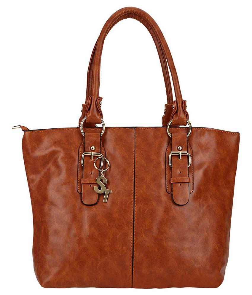 Minar Brown Shoulder Bag