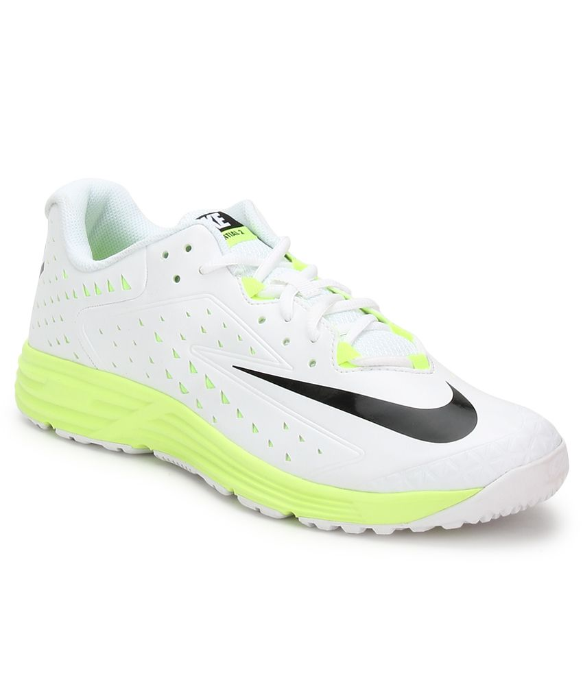 d3ad51339 Nike Potential 2 White Sport Shoes - Buy Nike Potential 2 White Sport Shoes  Online at Best Prices in India on Snapdeal