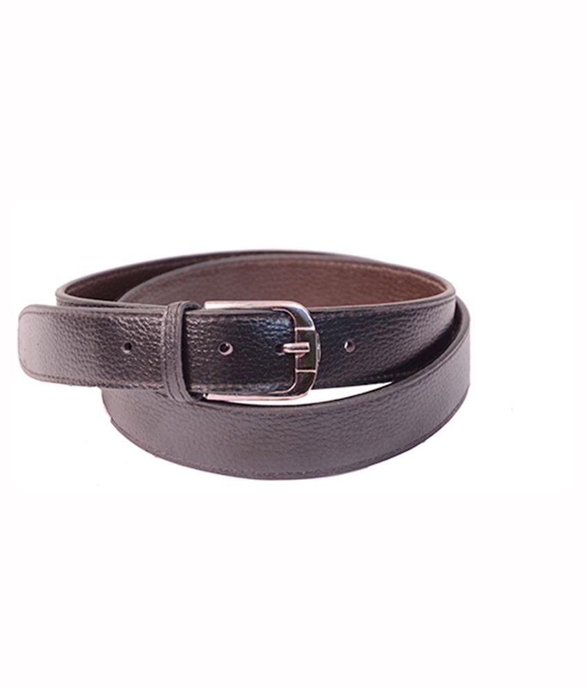Aam Shopping Brown Formal Belt