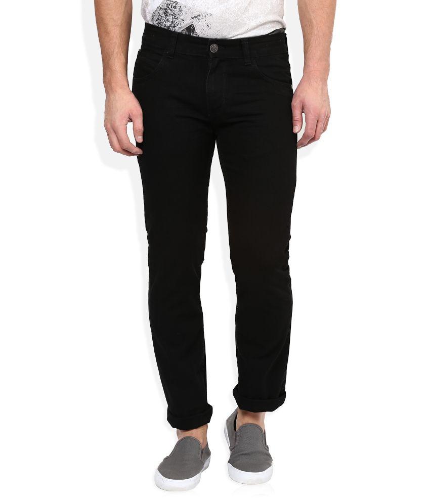 Newport Black Slim Fit Jeans