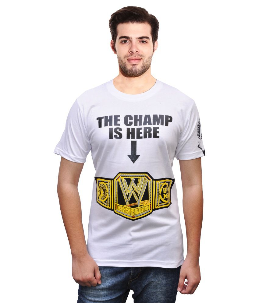 Rangifer Attitude John Cena The Champion Tshirt
