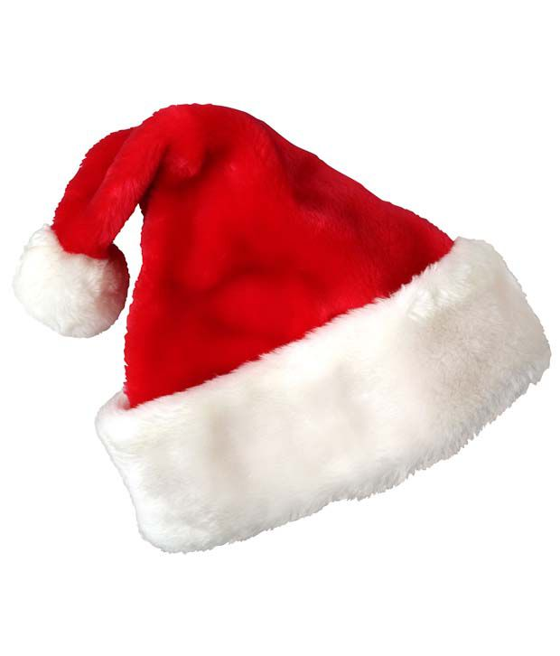 35370f6e91fef Stonic Red Polyester Christmas Cap - Buy Online   Rs.
