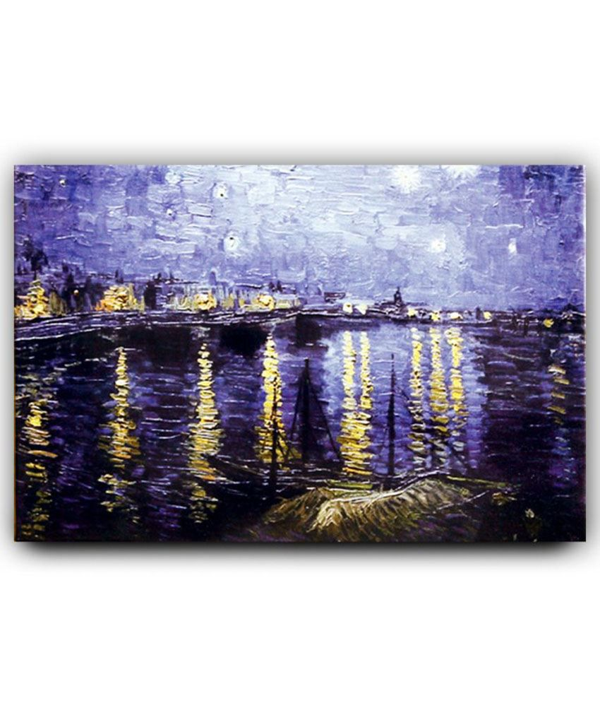 Art And Design Multicolour Canvas Painting