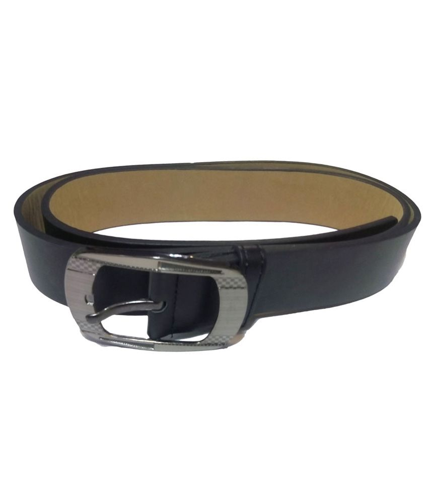 Attitude Works Black Pin Buckle Belt for Men