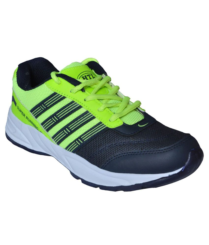 6869a3dd078e Hitcolus Green And Navy Blue Sports Shoes - Buy Hitcolus Green And Navy Blue  Sports Shoes Online at Best Prices in India on Snapdeal
