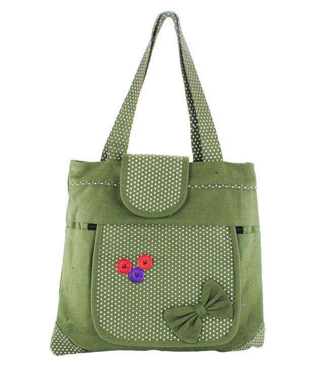 Mpkart Green Shoulder Bag