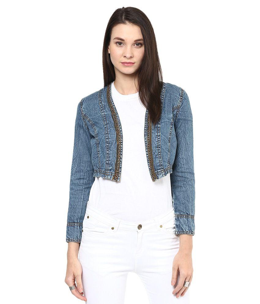1614daba98c Buy Stylestone Blue Denim Denim Jackets Online at Best Prices in India -  Snapdeal