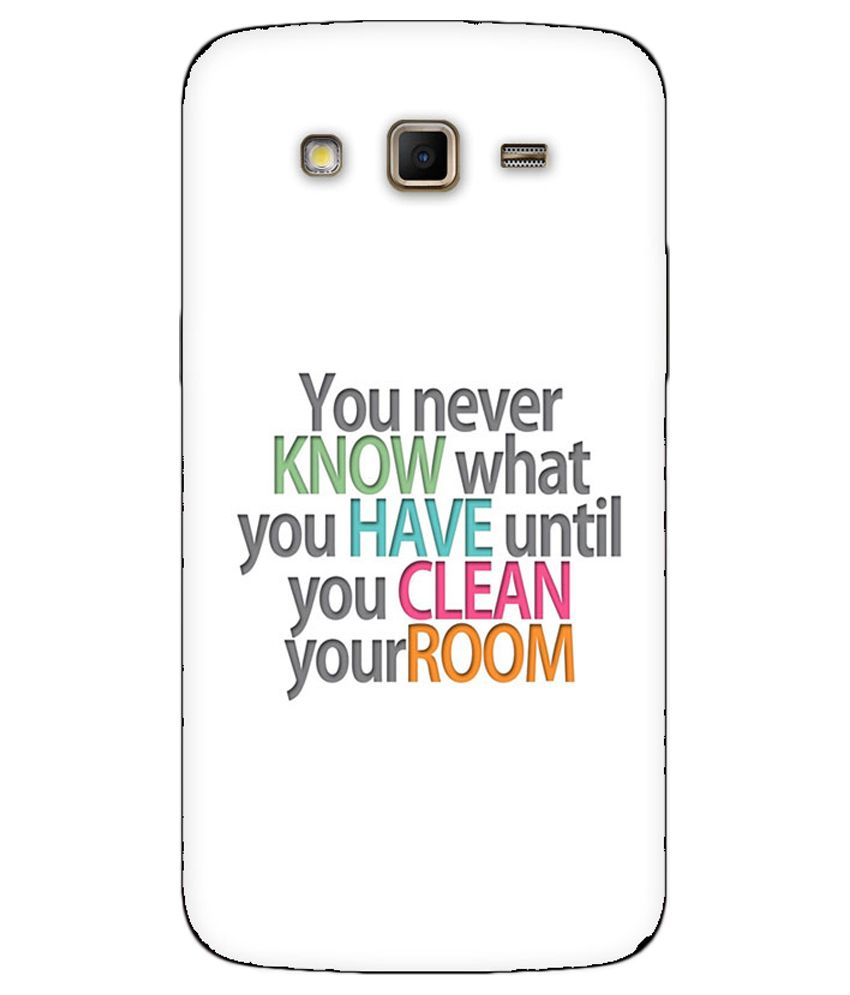 pretty nice ea31f bb9c8 Coverscart Printed Back Cover for Samsung Galaxy Grand 2 ...