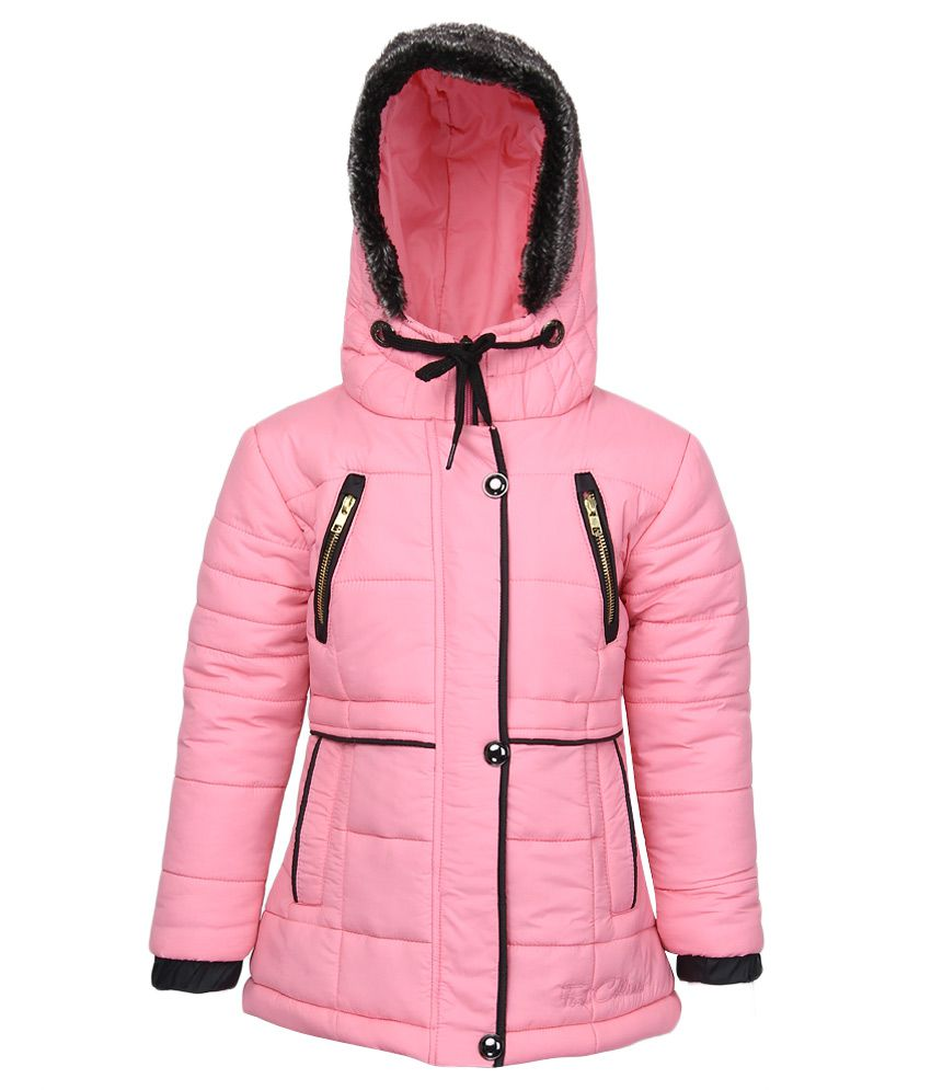 Fort Collins Pink Nylon Hooded Jacket