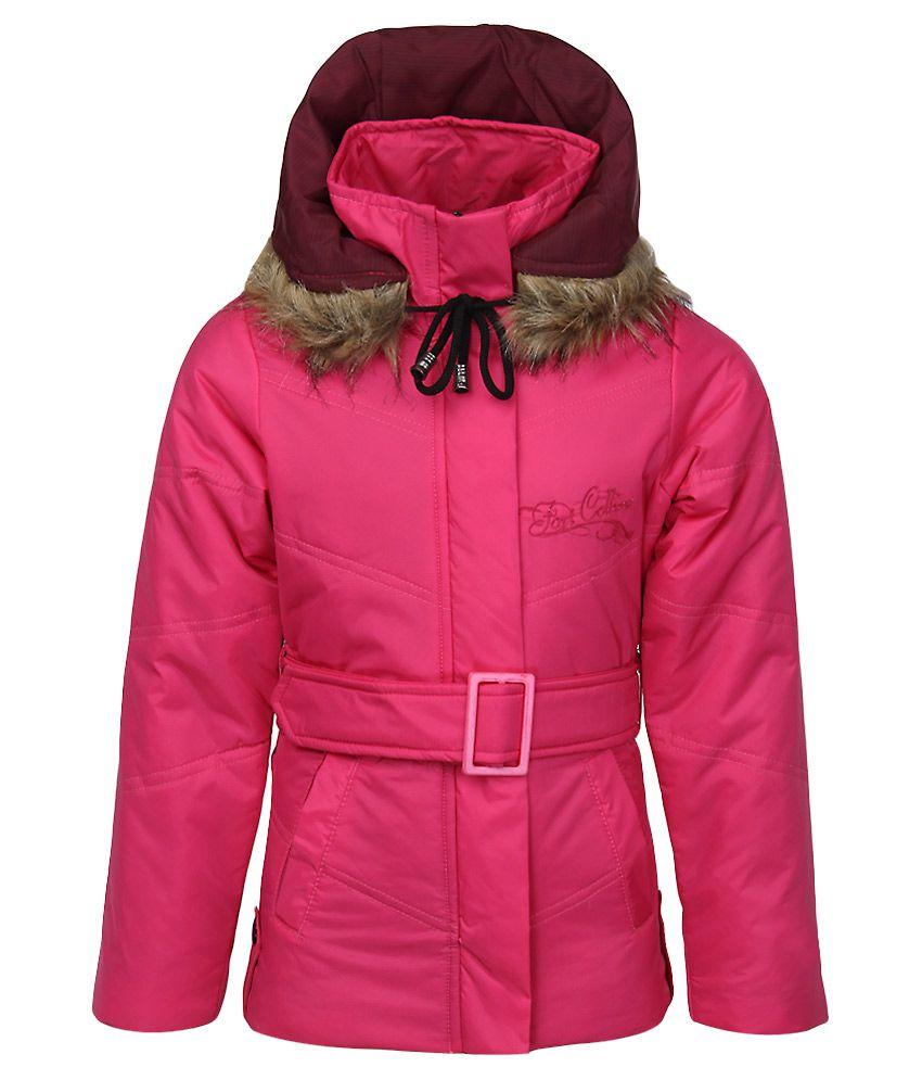 Fort Collins Pink Nylon Hooded Jacket