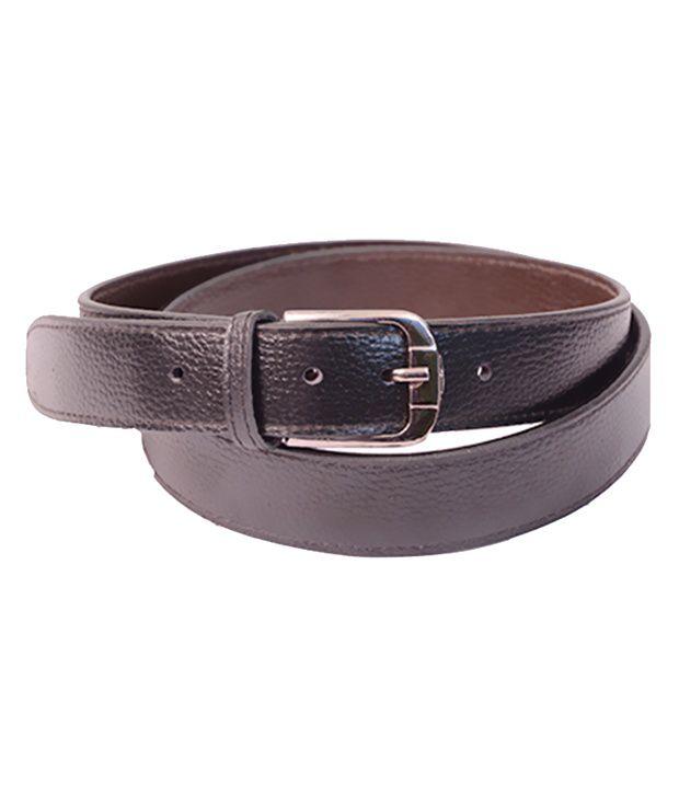 Aam Shopping Black Formal Belt