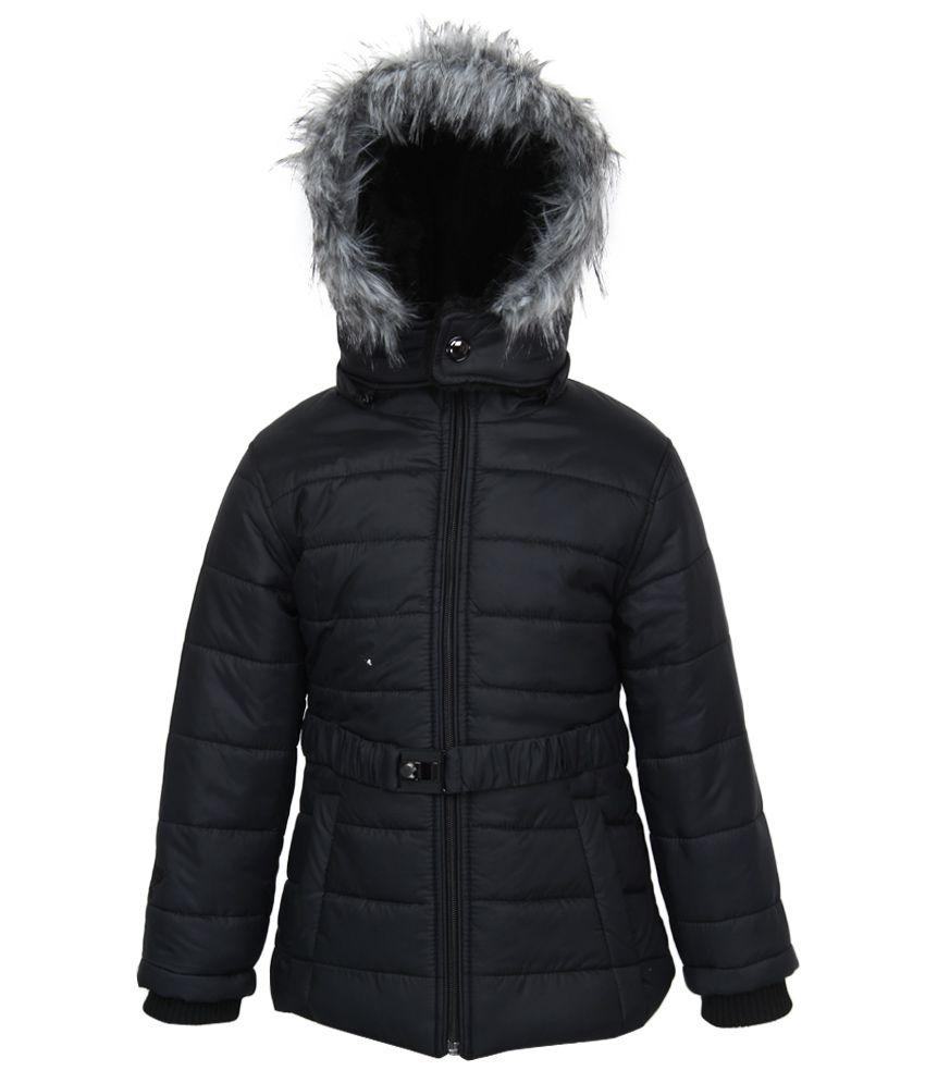 Fort Collins Black Nylon Hooded Jacket