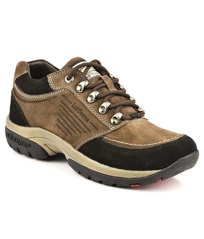 lee cooper brown casual shoes buy lee cooper brown