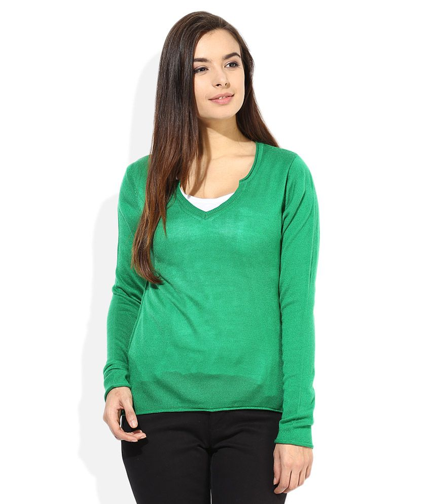 Buy Madame Green Sweater line at Best Prices in India Snapdeal