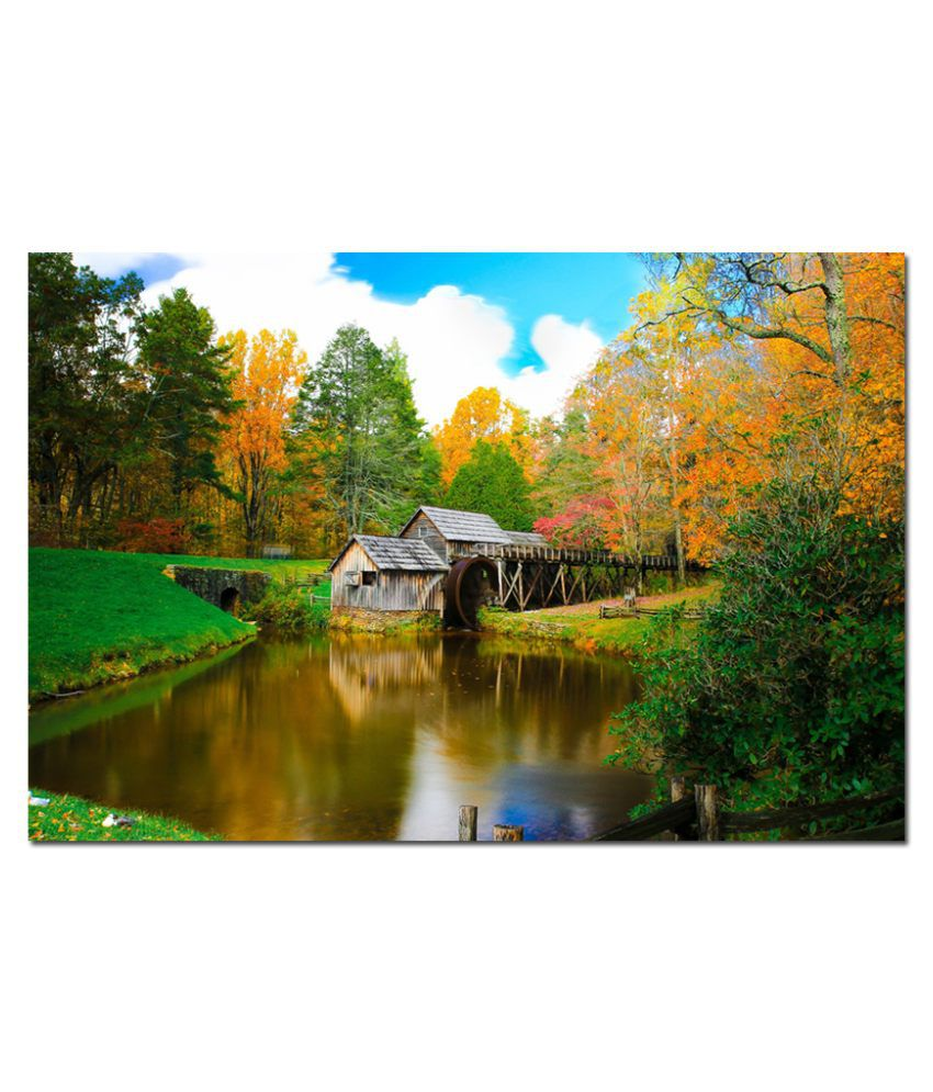 Anwesha's Water Active Wallpaper Poster 20 Inch X 30 Inch - Autumn Atm039