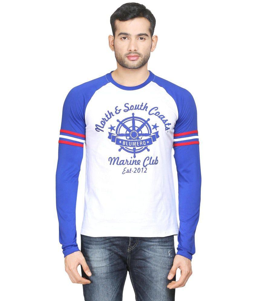Blumerq 100% Cotton Men T-Shirts