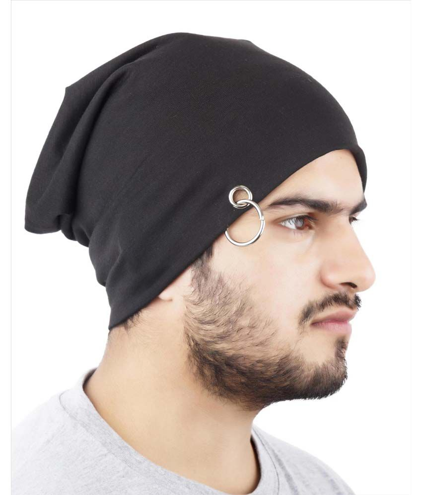 0e4c8409f59 Noise Midnight Black Slouchy Beanie - Buy Online   Rs.