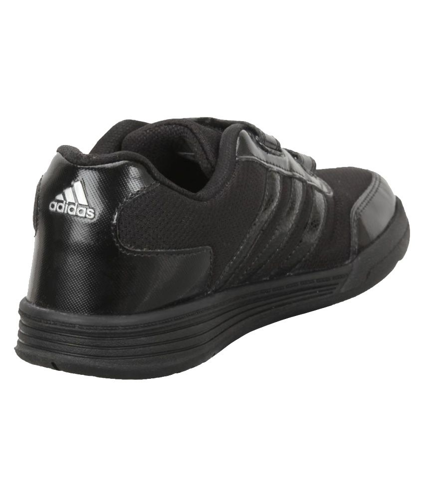 adidas school shoes black kids