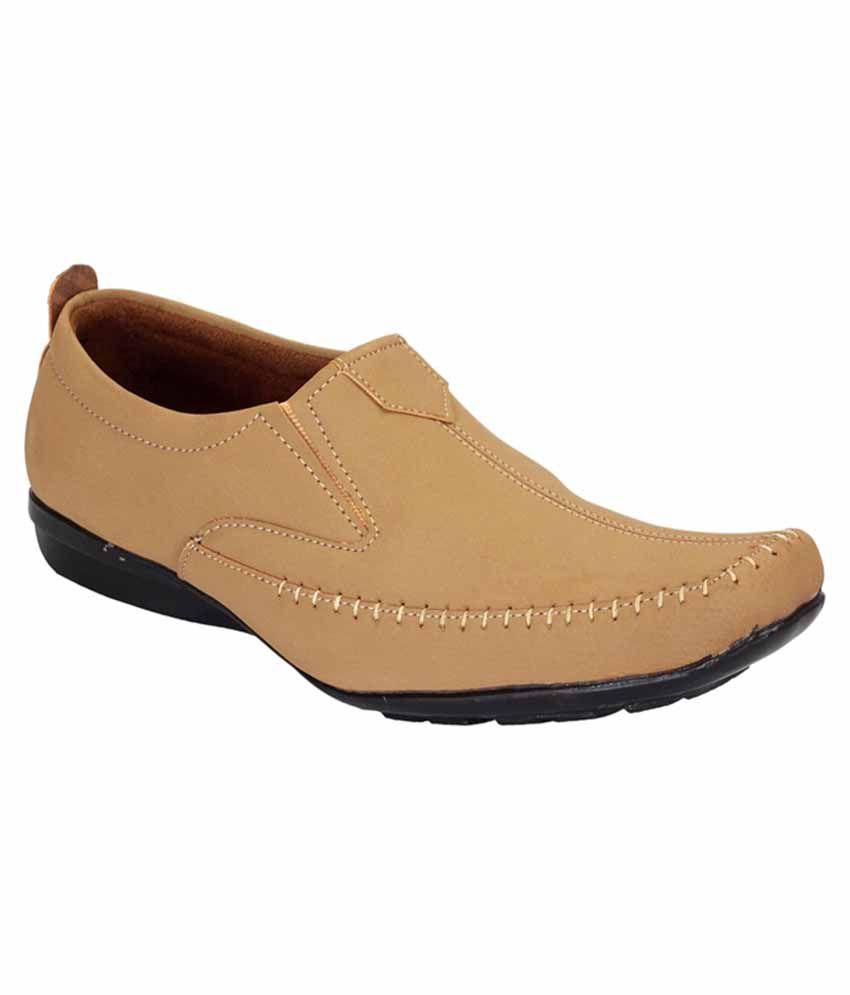 Footoes Beige Loafer Shoes - Buy Footoes Beige Loafer ...