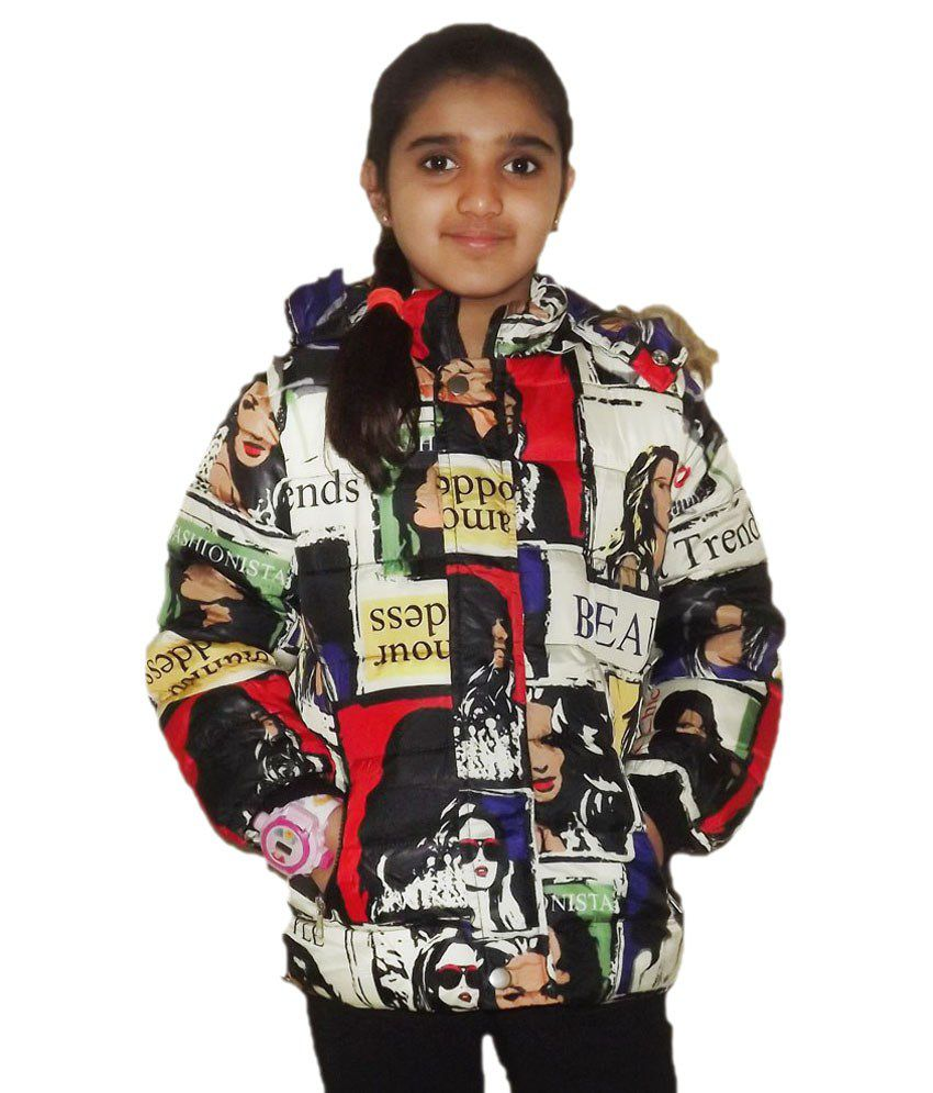 Aditya Multicolour Synthetic Jacket