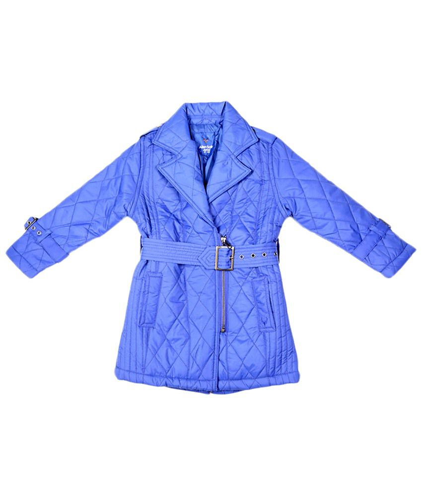 Allen Solly Blue Full Sleeve Quilted Jacket