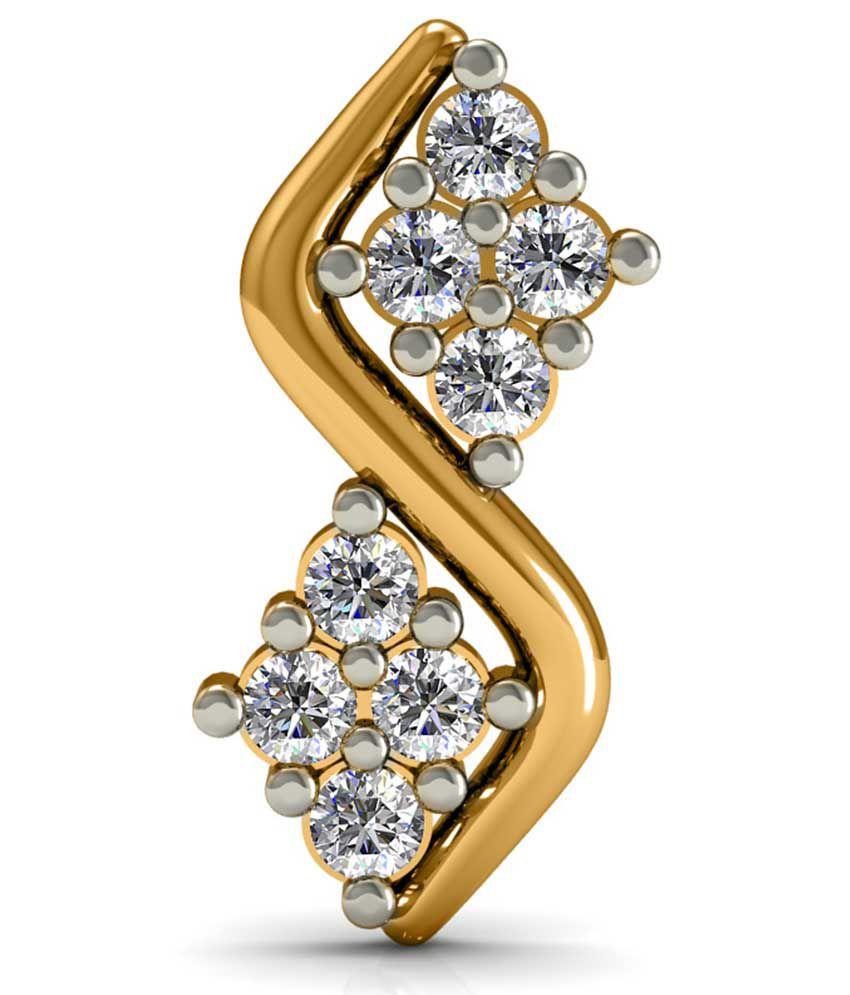Diaonj Diamonds 18kt Golden Sonata Supreme Glitter Studs