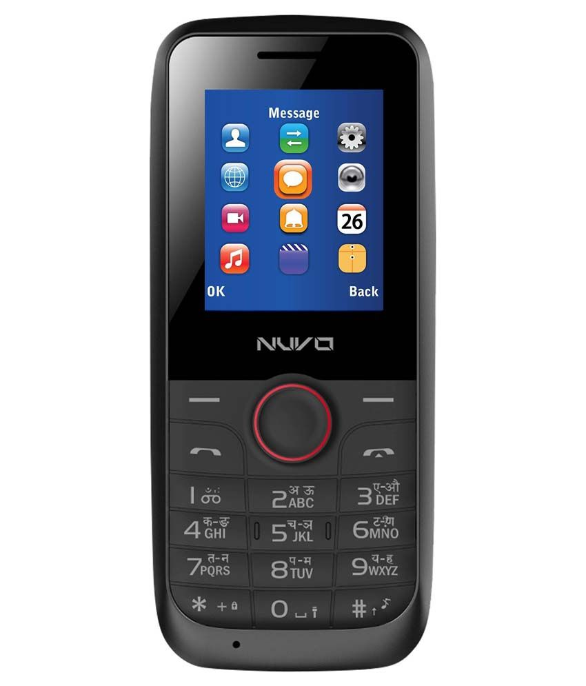 Nuvo One Nf-18 (Black-Red)