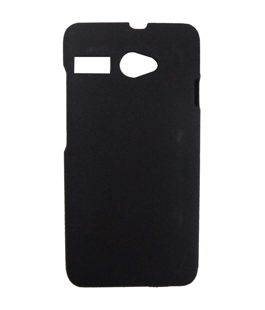 finest selection da479 aac38 Accessories24x7 Back Cover For Intex Aqua 3G Pro - Black - Plain ...
