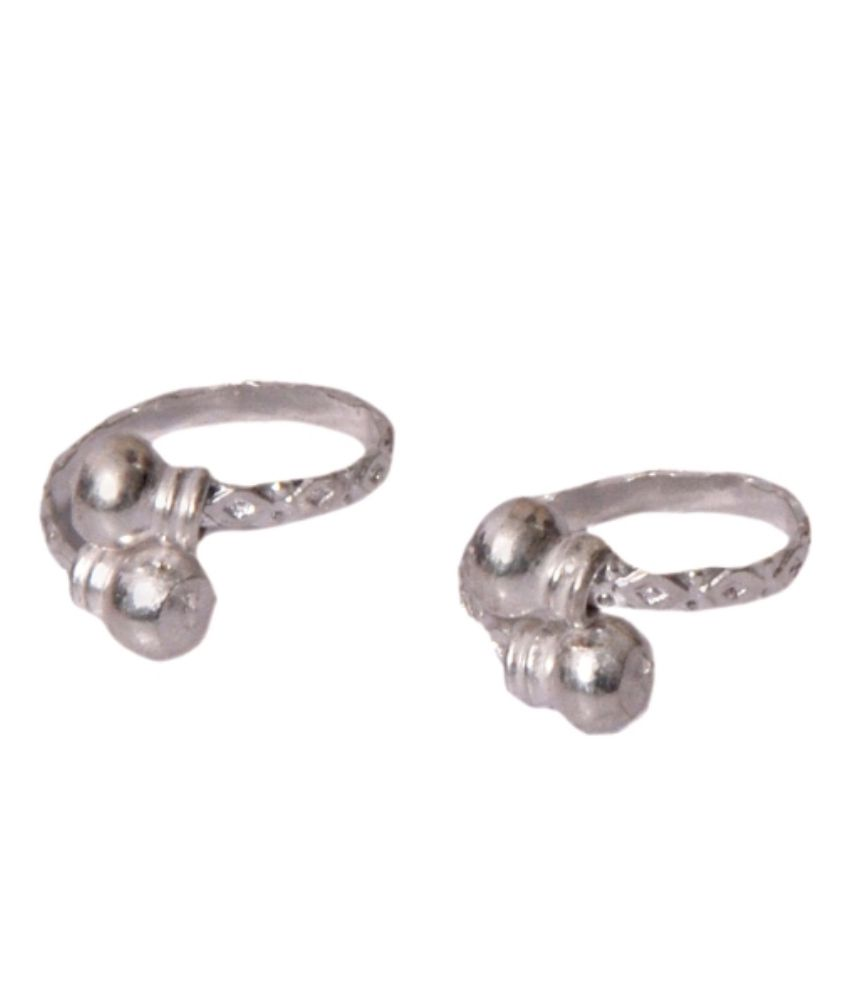 Arai Silver Alloy Toe-ring
