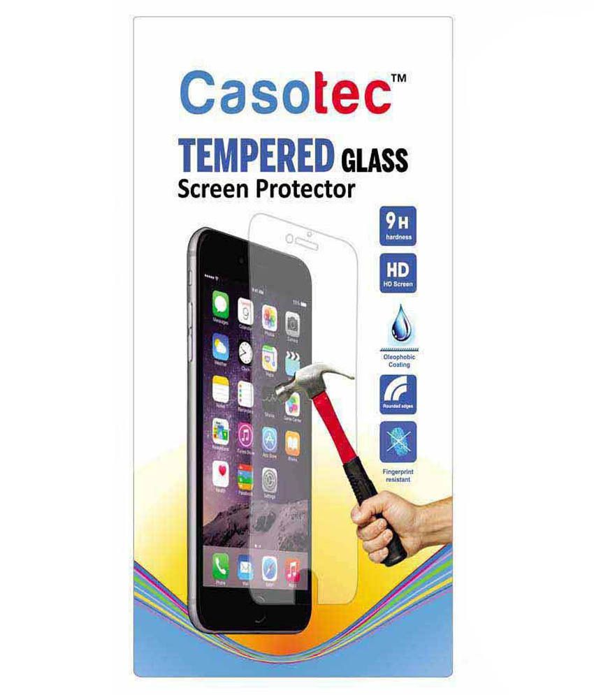 Oppo Neo 7 Tempered Glass Screen Guard by Casotec - Mobile Screen Guards Online at Low Prices | Snapdeal India