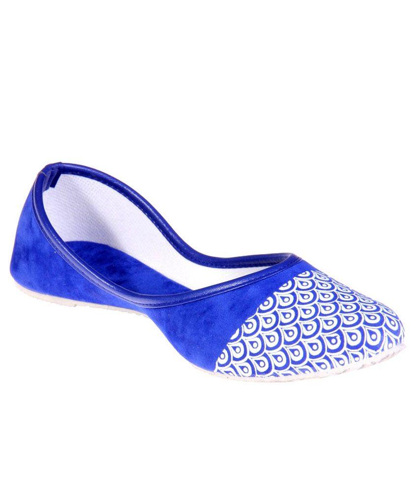 Goyal Blue Jutti
