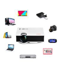 UNIC UC40 LED Projector with 8 GB Pendrive