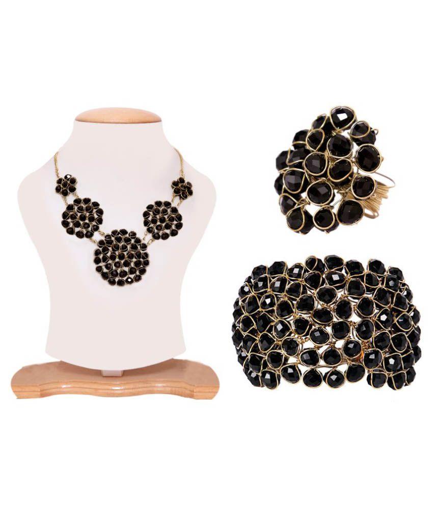 Renaissance Traders Black Alloy Necklaces & Sets