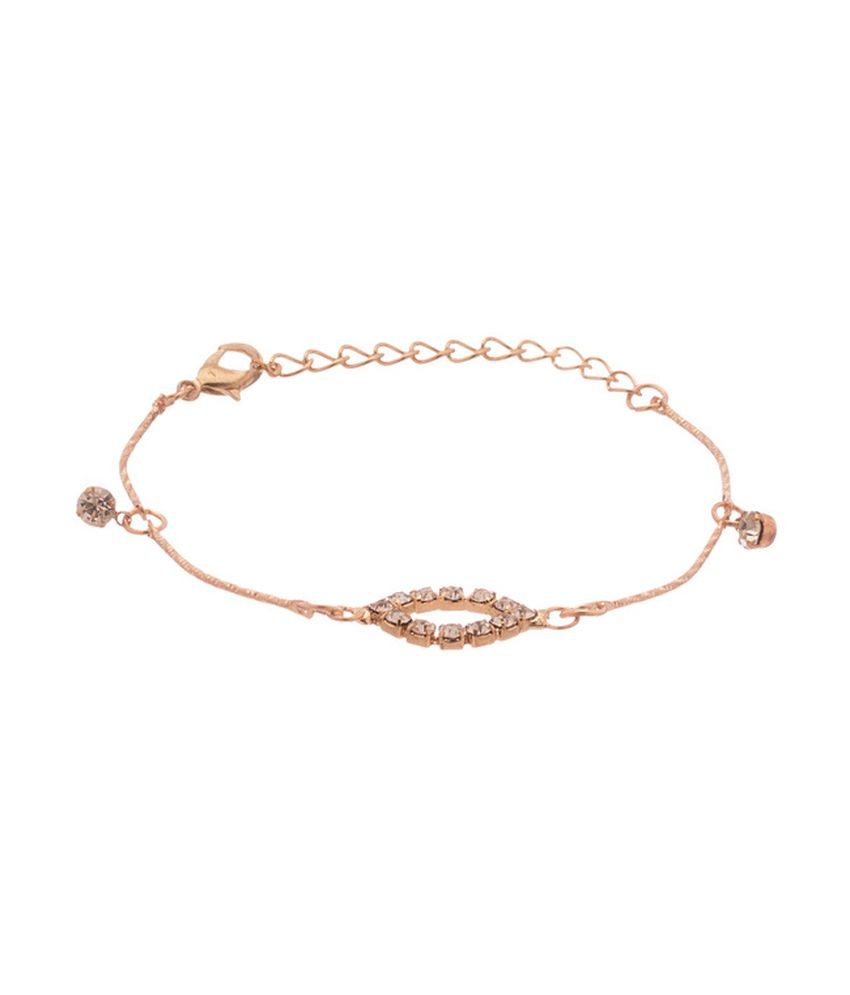 D&D Golden Alloy Bracelet