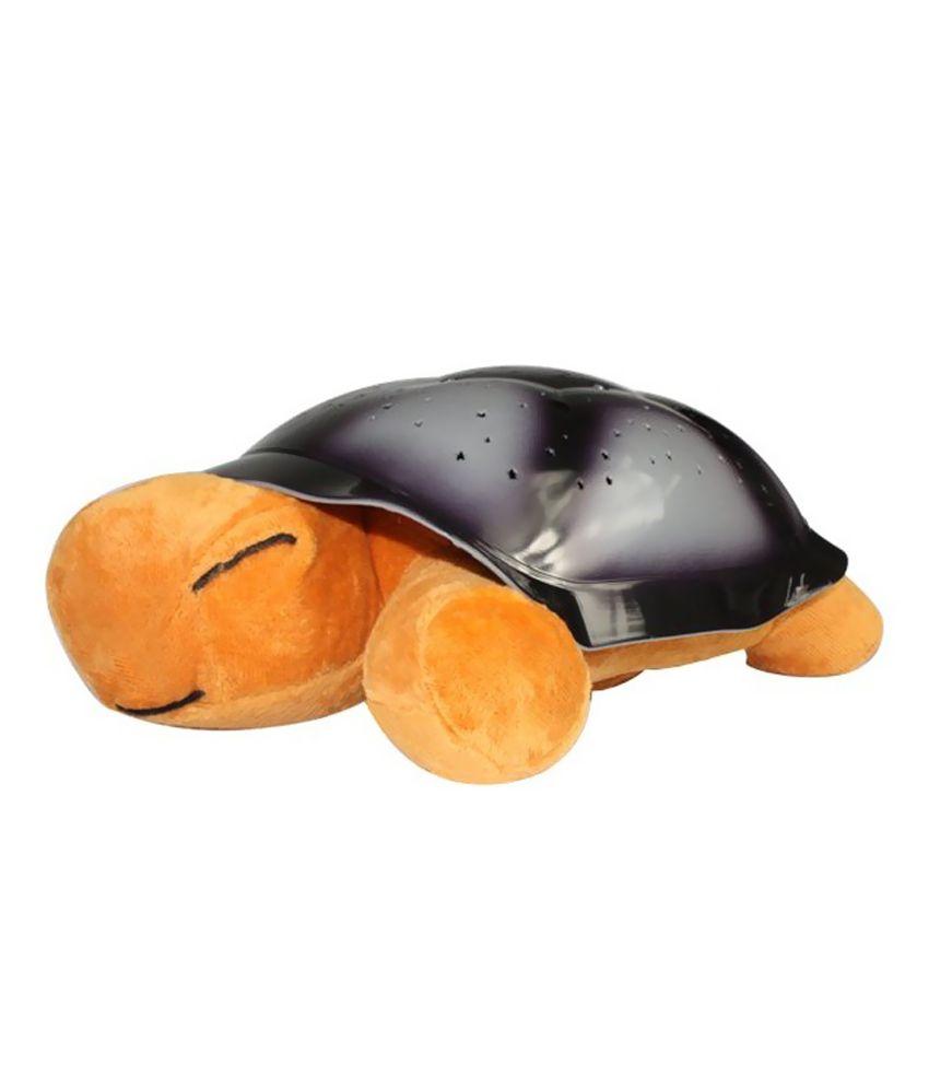 Jaatara 10w Turtle Twilight Led Star Projector Night Lamp With Music - Yellow