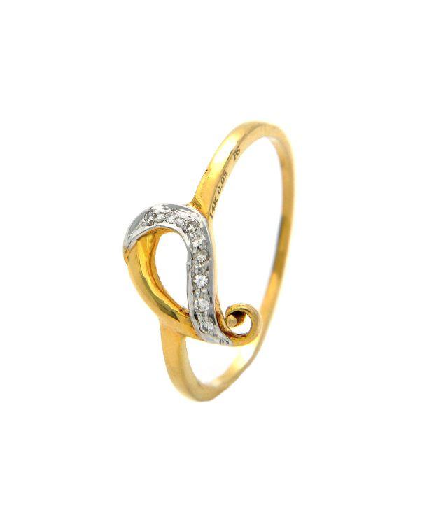 Popleys 18kt Gold Diamond Ring