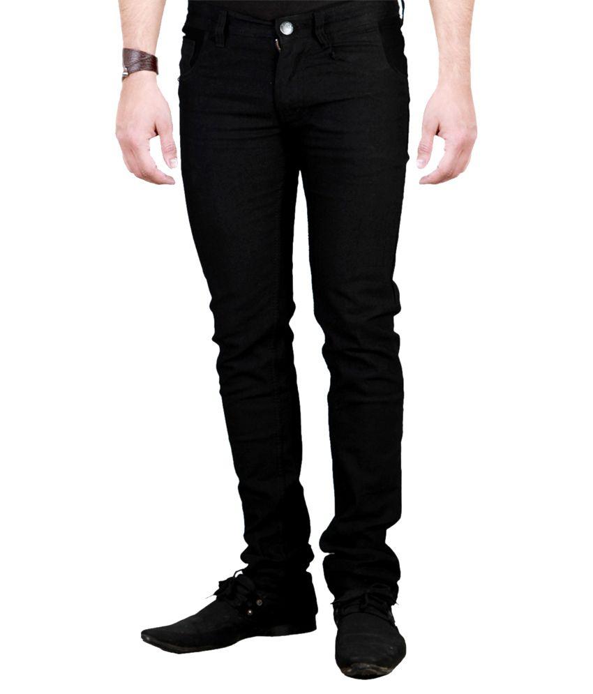Western Texas 96 Black Slim Fit Jeans