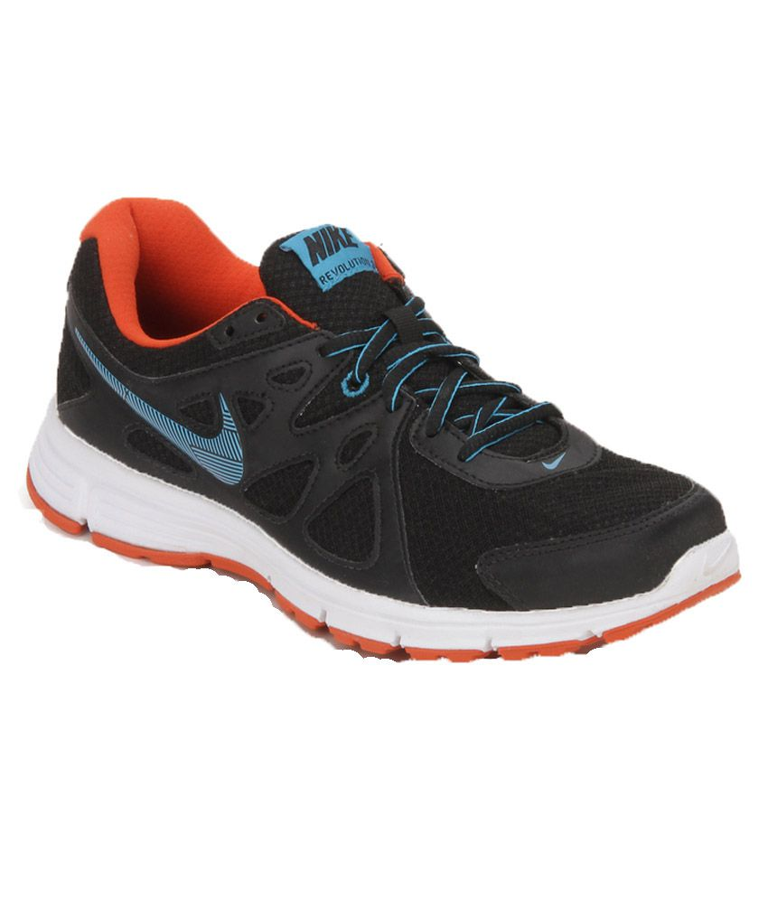 387e91b7a1e Nike Revolution 2 Msl Black Running Shoes - Buy Nike Revolution 2 ...