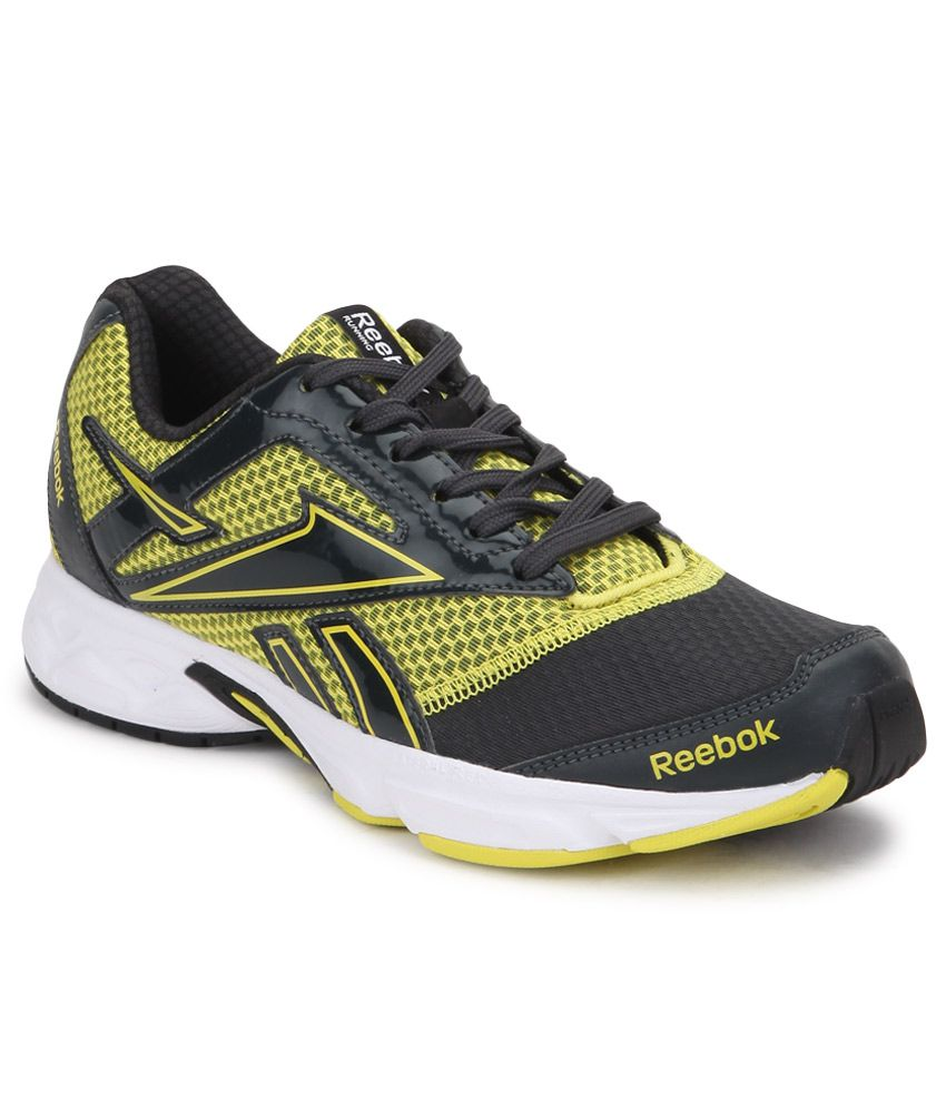 Reebok Yellow Running Shoes