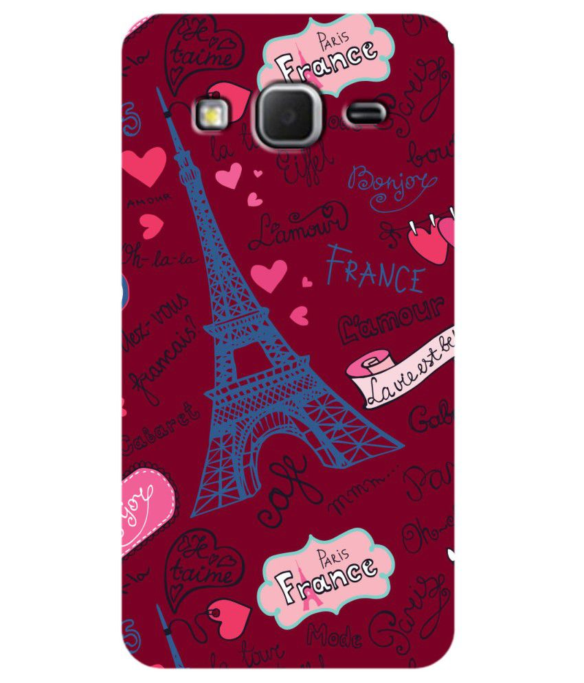 wholesale dealer 393dc d31e4 Zapcase Printed Back Cover For Samsung Galaxy Core Prime ...