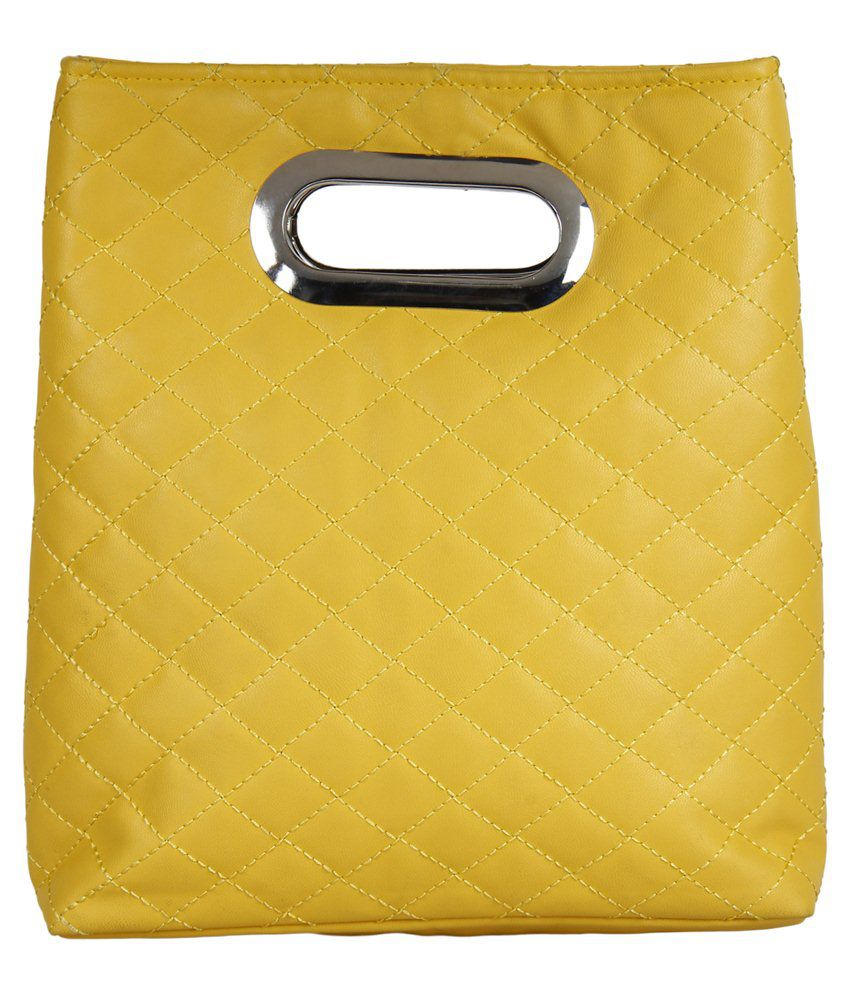 Anekaant Clutch-yellow