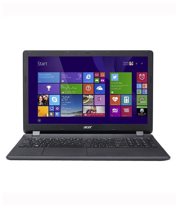 Acer Aspire ES1-531 Notebook (Intel Celeron- 2 GB RAM- 500 GB HDD- 39.62 cm (15.6)- Windows 8.1) (Black)