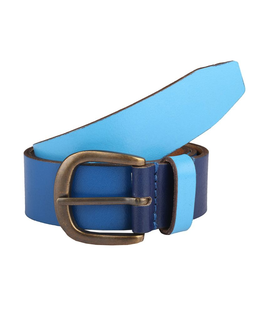 Paradigm Design Lab Blue Casual Belt For Men