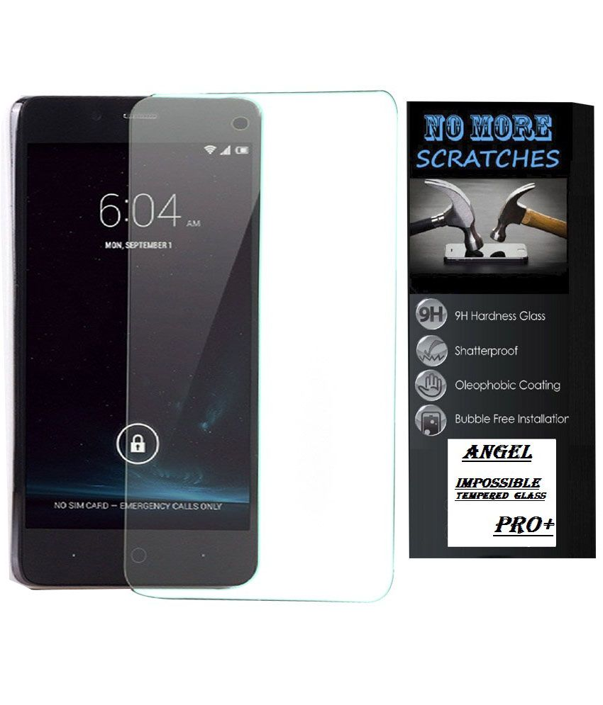 Angel Tempered Glass Screen Guard For Samsung Galaxy E5