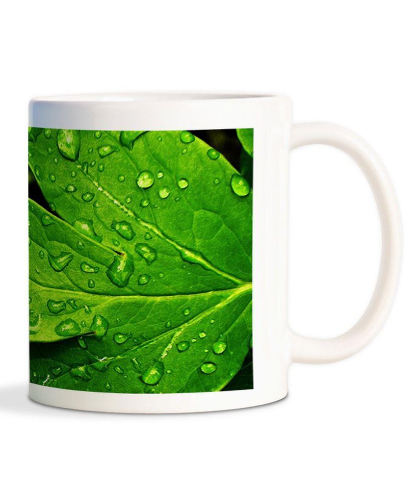 Funturoo Ceramic 330ml Cofee Mug - Multicolour