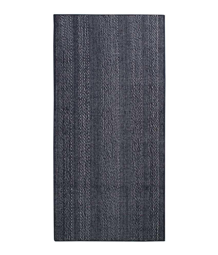 Saral Home Blue Cotton Yoga/Exercise Mat
