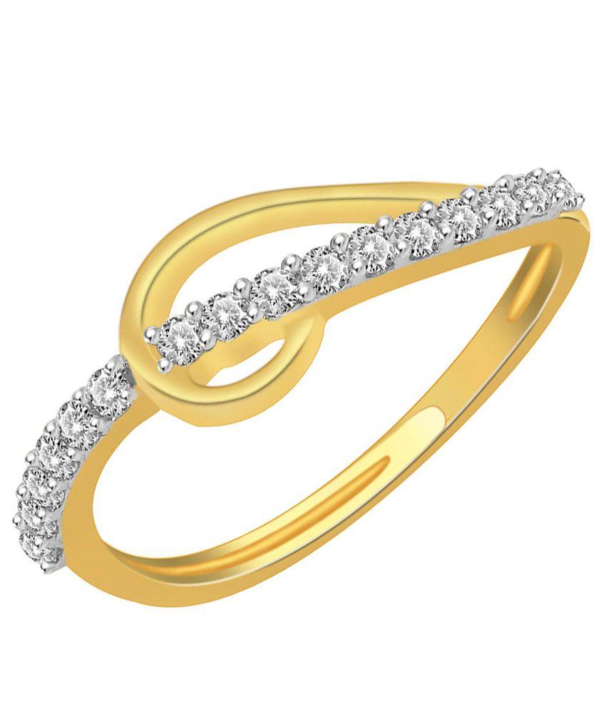 Daily Diamonds 14Kt Yellow Gold Diamond Ring