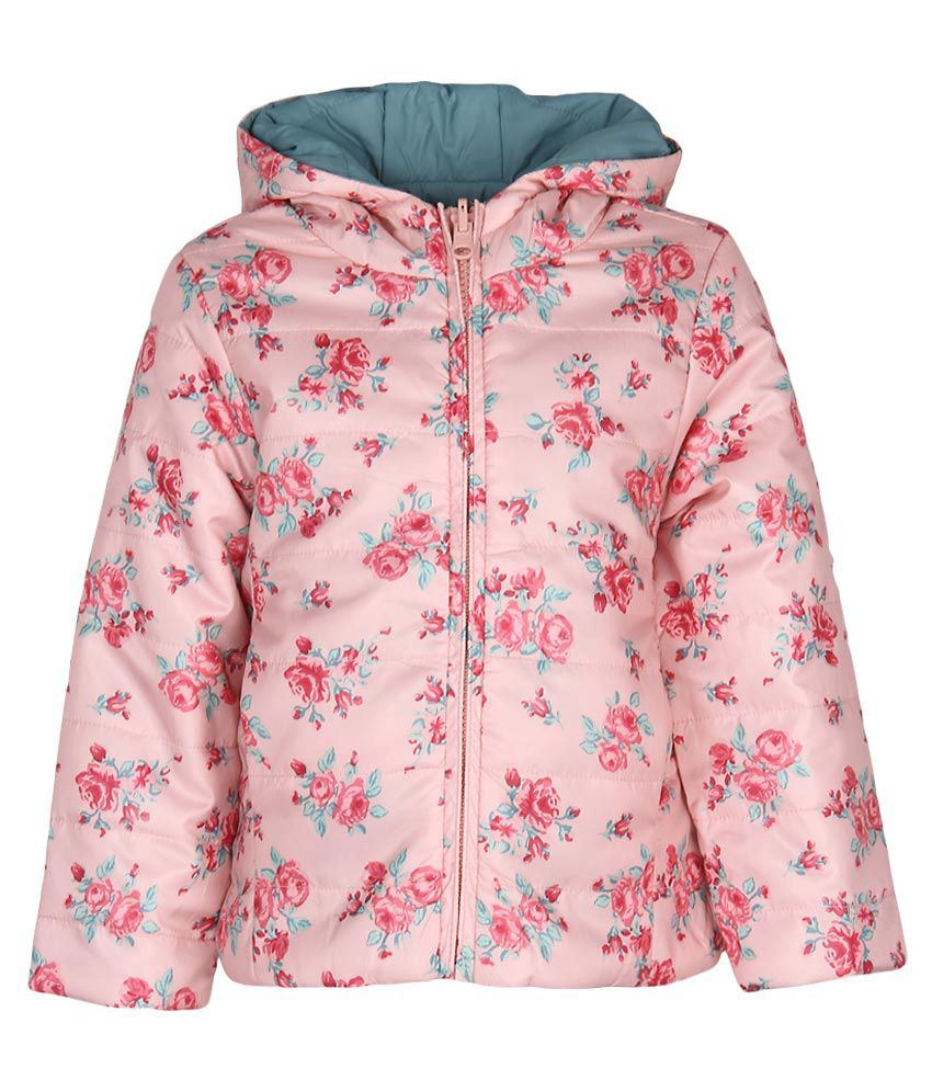 United Colors of Benetton Pink Hooded Jacket